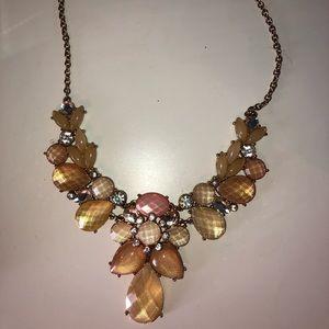 Aldo crystal necklace